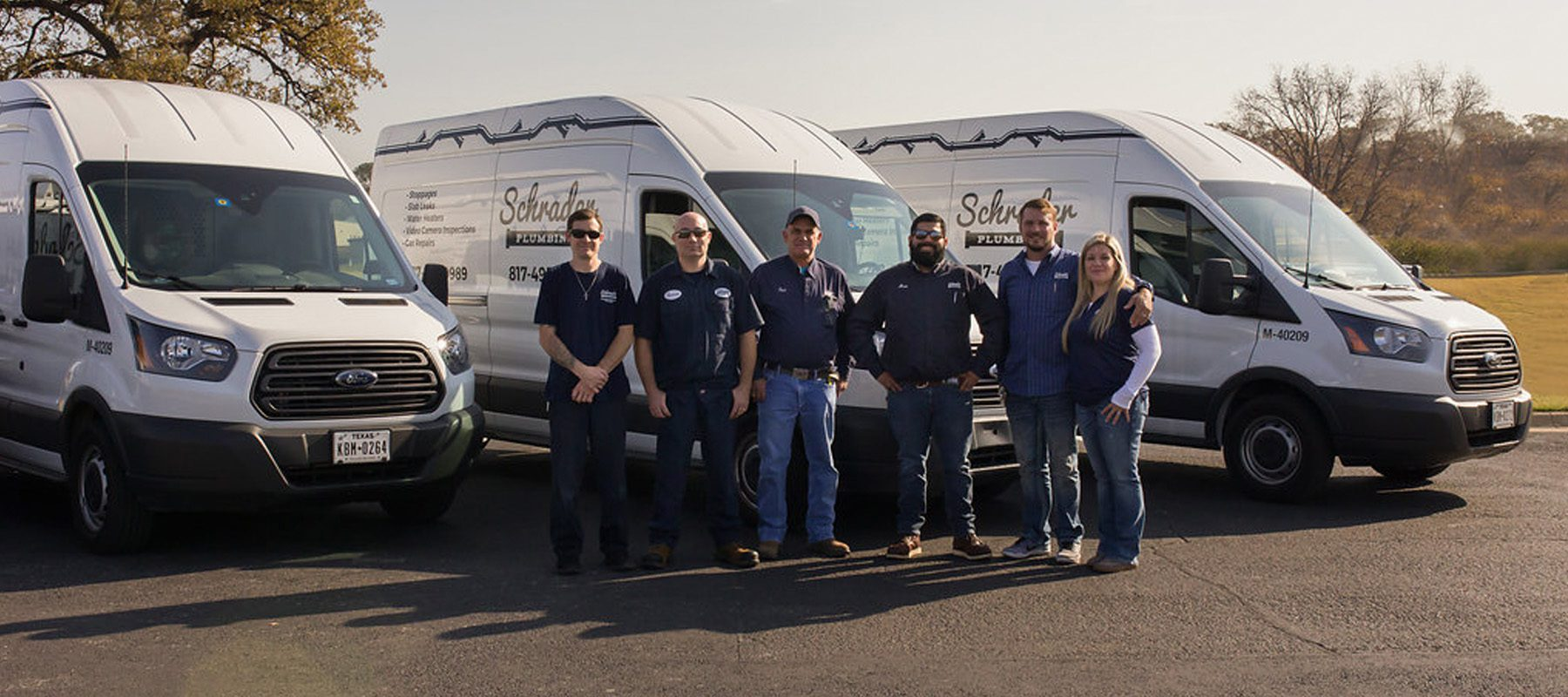 About Schrader Plumbing in Ft Worth