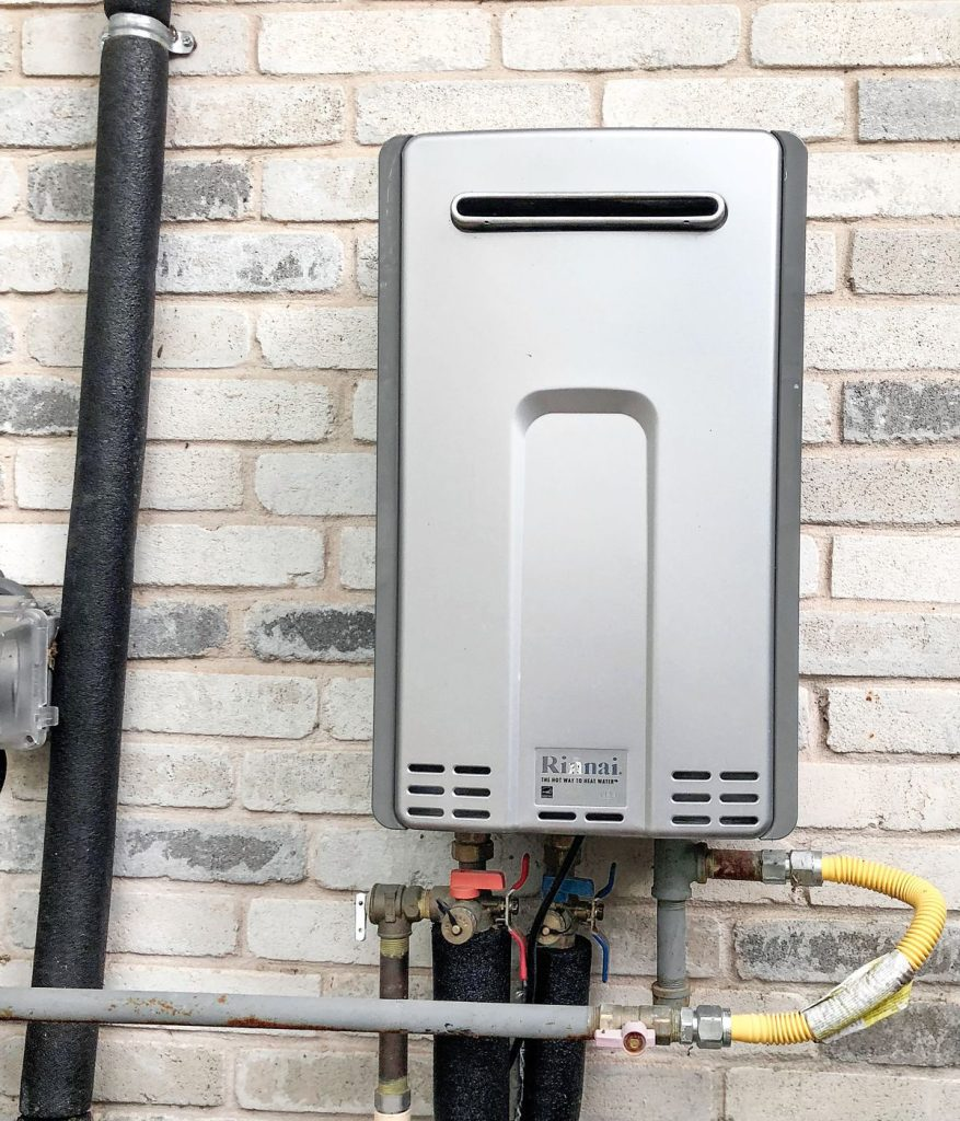 North Richland Hills tankless water heater